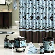 Brown Bathroom Accessories with Blue And Brown Bathroom Wall Decor The Best Ideas On Bathrooms