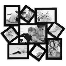 picture frames wayfair 9 photo collage wood wall hanging frame