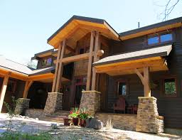 Timber Frame Cottage by Pennsylvania Timber Frame Homes Blue Ox Timber Frames