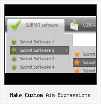make custom aim expressions template