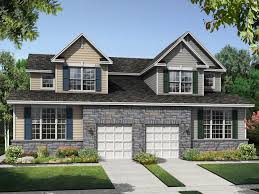 Twin Home Plans by Hyett U0027s Crossing Twin Homes New Paired Homes In Middletown De