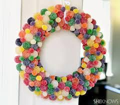 diy wreaths diy gumdrop wreath for 20