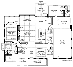 Dining Room Names by Plan Name Orleans 4 Bedroom 4 5 Bath 1 Story Living Bonus