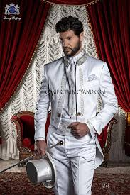 costume mariage blanc italienne sur mesure mariage blanc costume de style 1279 on gala