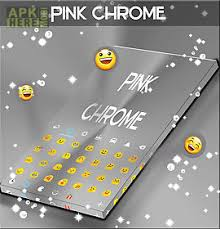 keyboard themes for android free download pink chrome keyboard theme for android free download at apk here