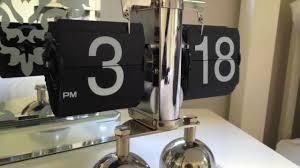 retro flip clock buy online novvi co uk youtube