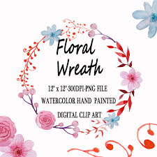 wedding flowers clipart watercolor wreath clipart wedding floral clip flowers wreath