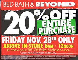 bed bath beyond black friday 2014