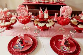 Valentine S Day Table Decorations by Be Mine Vintage Valentine Dessert Table Jenny Cookies