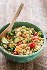 greek pasta salad with feta neighborfood