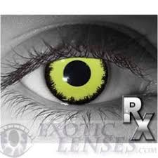 yellow cat crazy contact lens pair yc 24 99 colored