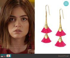 owlita earrings montgomery hale wears these feather earrings in this