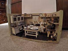 puppenküche kleine antike puppenküche ca 1940 ebay poppenhuisspullen