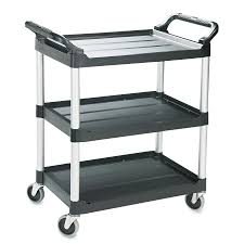 rubbermaid service cart with cabinet shop rubbermaid commercial products 37 75 in utility cart at lowes com