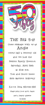 50th birthday surprise party invitations alesi info