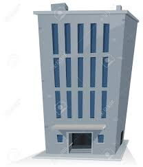 bureau de dessin illustration d une tour de bureau de dessin animé bâtiment clip
