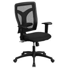 Adjustable Height Desk Chair by Galaxy High Back Designer Back Task Chair With Adjustable Height