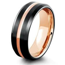 black wedding band tungsten wedding bands mens tungsten rings northernroyal