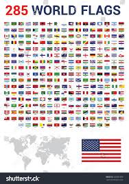 Flags Of The Wrld Vector Set 285 World Flags Sovereign Stock Vector 339881690