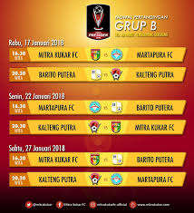 Jadwal Piala Presiden 2018 Jadwal Lengkap Pertandingan Grup B Piala Presiden 2018 Okezone Bola
