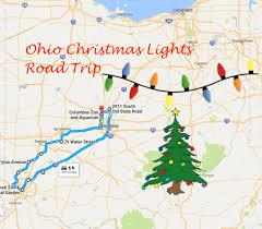 the magical christmas lights road trip through ohio