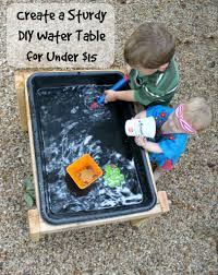 make a diy water table for less than 15 water tables water and