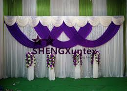 wedding backdrop prices purple wedding backdrop curtain bulk prices affordable purple
