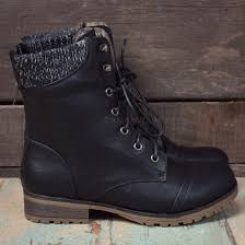 black sweater boots shoes lace up boots black boots fall boots low heel boots