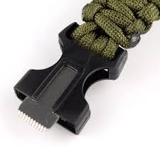paracord survival whistle bracelet images Paracord survival bracelet with firestarter jpg