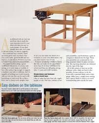 Simple Wood Workbench Plans by Simple Workbench Plans U2022 Woodarchivist