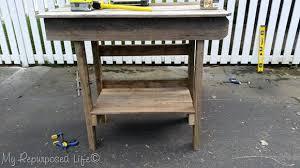 salvaged wood kitchen island salvaged wood outdoor bar kitchen island my repurposed