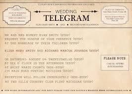 telegram wedding invitation wedding telegram template 28 images details about 10 x