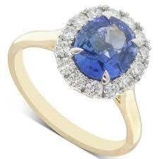 coloured stone rings images Coloured stone engagement rings walker amp hall jpg