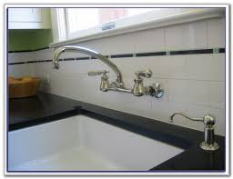 Delta Wall Mount Kitchen Faucet Classic Single Handle Wall Mount Kitchen Faucet Sinks And