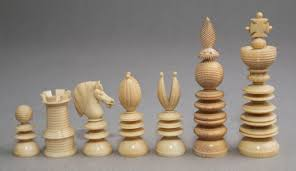 lund ivory chess set 3 7