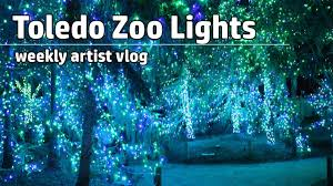 Zoo Lights Prices by Art Student Vlog Toledo Zoo
