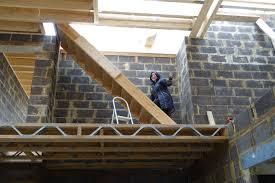 temporary staircase to 2nd floor u2026 u2013 wood end manor