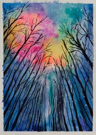 saatchi art artist anna superson painting starry night art