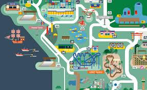 Legoland Map Legoland Florida Map 2016 On Behance