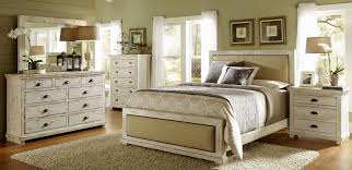 Rustic White Bedroom Sets Distressed White Bedroom Furniture Willow Casual Distressed White