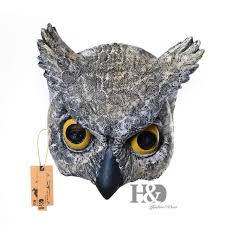owl mask 2pcs half owl mask animal zoo party costume