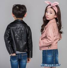 Popular Leather Motorcycle Jacket Children Buy Cheap Leather
