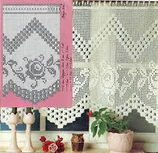 Crochet Valance Curtains 959 Best Crochet Curtains Heegeldatud Kardinad Images On
