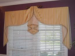 Unique Window Treatments Double Moreland Valance With Raised Center Cathy U0027s Curtains