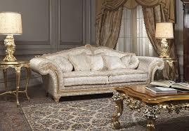 canapé classique canapé classique imperial avec table gravée vimercati