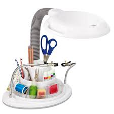 Ottlite Desk Lamp With Colour Base by Ottlite 22w Ultimate Magnifier Lamp And Storage Station