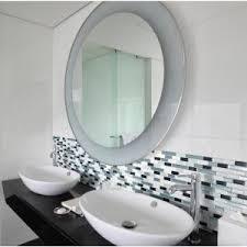 Backsplash In Bathroom Smart Tiles Murano Metallik 10 20 In W X 9 10 In H Peel And