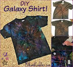 a galaxy tee shirt terrific craft for older kids middle