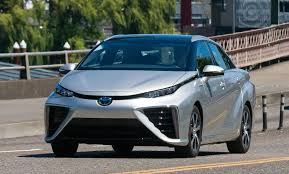 toyota car 2016 2016 toyota mirai hydrogen fuel cell car runs on leftover