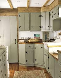 Kitchen Cabinet Hinges Country Kitchen Painted Kitchen Cabinets With Exposed Hinges